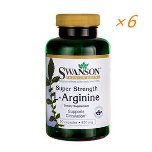 美国Swanson 强效L-精氨酸男性健康勃起胶囊(改善性功能