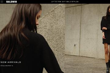 BALWIN服饰品牌美国网站