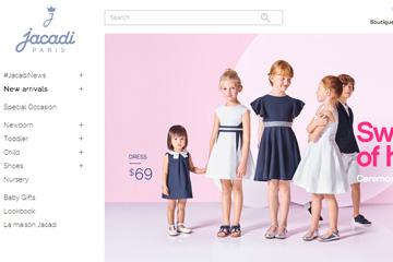 Jacadi US 亚卡迪品牌童装美国网站