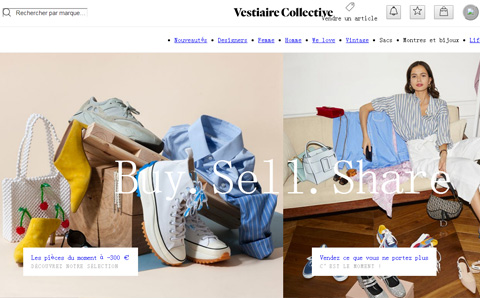 Vestiaire Collective 欧洲最大二手奢侈品交易网站