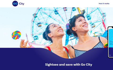 Go City 旅游景点优惠卡折扣门票预订网站
