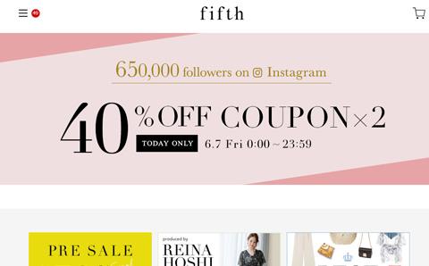 Fifth 日本时尚女装品牌中文网站