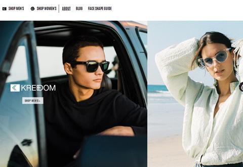 Fortress Eyewear 美国太阳镜和雪地护目镜品牌购物网站
