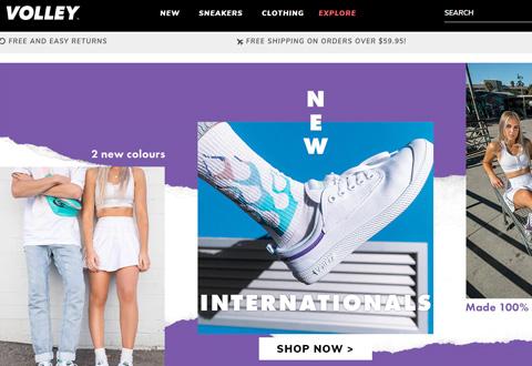 Volley Australia 澳大利亚运动鞋品牌购物网站