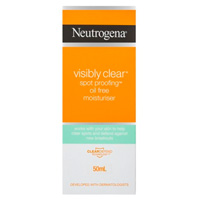 新西兰PD药房Neutrogena 露得清 清透斑点抗油无油保湿霜 50ml