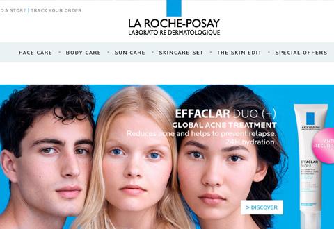 La Roche-Posay 法国理肤泉药妆品牌加拿大网站