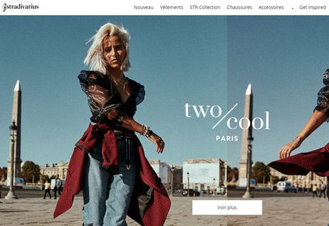 Stradivarius BE 西班牙女装品牌网站
