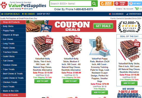 Value Pet Supplies 美国宠物用品官方网站
