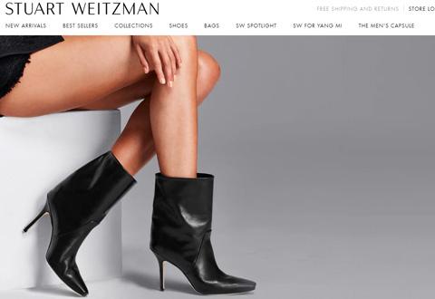 Stuart Weitzman 美国斯图尔特·韦茨曼高端鞋履品牌网站