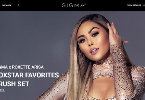 Sigma Beauty有没有中国/中文网站