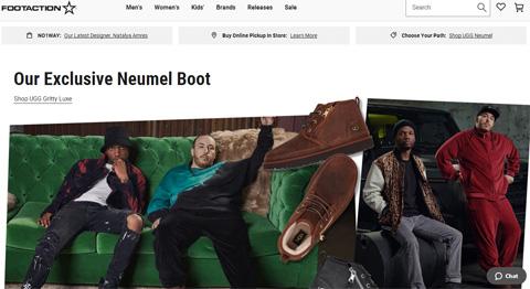 Footaction最新美国网站海淘下单攻略