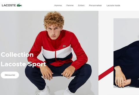 Lacoste FR 鳄鱼服饰品牌法国网站
