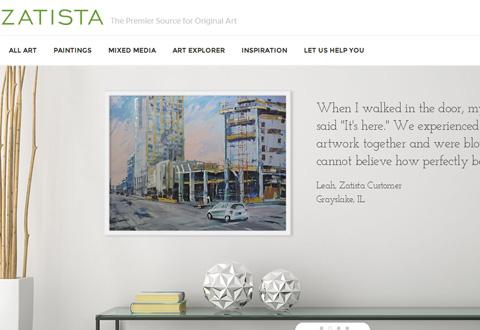 Zatista 美国装饰画在线海淘网站
