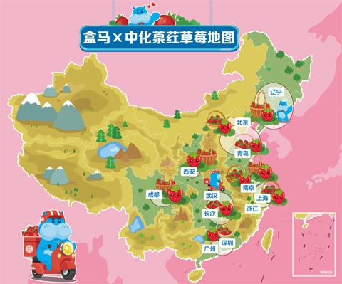 """""""葲荭草莓""""上市 盒马携手中化探索""""新零售+新农业""""模式"""