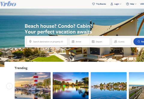 VRBO 美国度假房产租赁网站