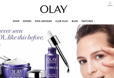 Olay 玉兰油护肤品牌英国网站