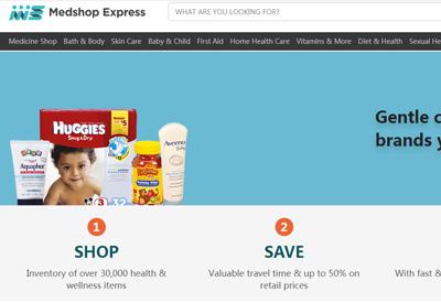 Medshopexpress 美国健康和美容产品购物网站