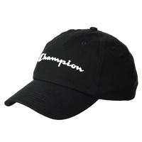 Champion 冠军 经典百搭英文logo刺绣可调节棒球帽