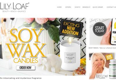Lily & Loaf 英国健康营养保健品牌网站