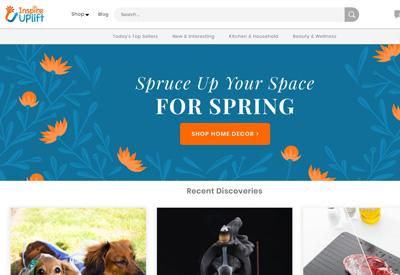 Inspire Uplift 美国家居礼物用品网站
