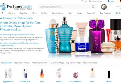 Perfumetrader 德国美妆护肤网站