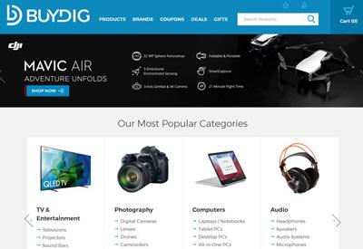 BuyDig 美国数码商品海淘网站