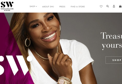 Serena Williams Jewelry 美国珠宝网站