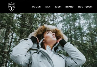 Nobis 加拿大羽绒服品牌网站