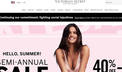 Victoria's Secret维多利亚的秘密美国网站海淘攻略与教程