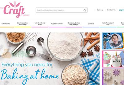 Craft Company 英国蛋糕食材购物网站
