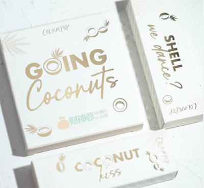 Colourpop卡拉泡泡Going Coconuts椰子盘试色测评详解