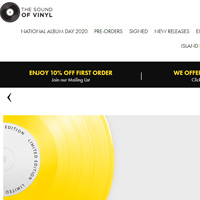 The Sound of Vinyl英国网站黑胶唱片海淘攻略与转运流程