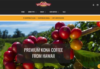 KoaCoffee美国科纳咖啡品牌网站