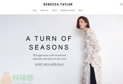 RebeccaTaylor美国瑞贝卡泰勒女装品牌网站
