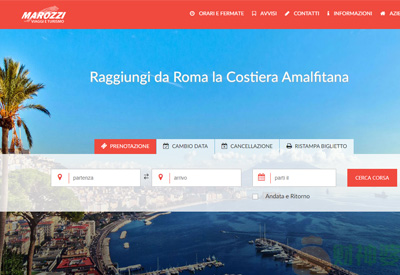 MarozziIT意大利汽车汽车旅行预订网站
