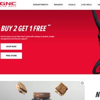 GNC健安喜网站海淘攻略