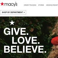 Macys梅西百货美国网站海淘攻略与下单教程