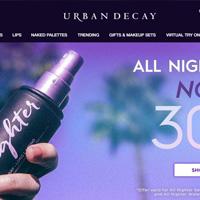 UrbanDecay美国衰败城市化妆品牌网站海淘攻略