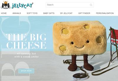Jellycat英国玩具网站海淘攻略
