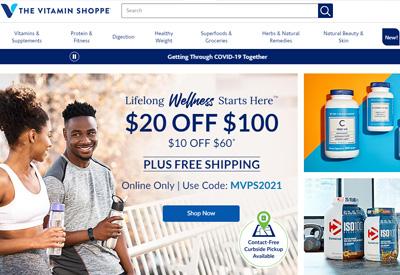 TheVitaminShoppe美国营养保健补充剂网站海淘攻略