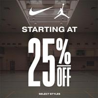 Jimmy Jazz现有Jordan\Nike无门槛7.5折促销